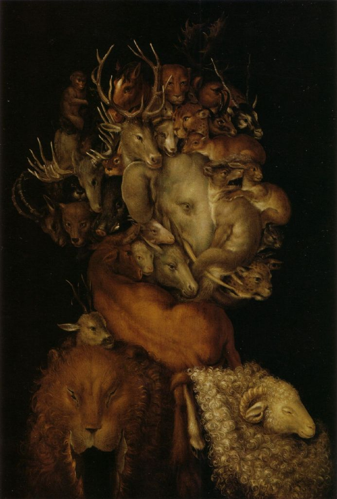 Arcimboldo, Giuseppe: The Earth. Fine Art Print/Poster. Sizes: A4/A3/A2/A1 (002633)